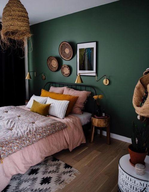 green bedroom ideas 10