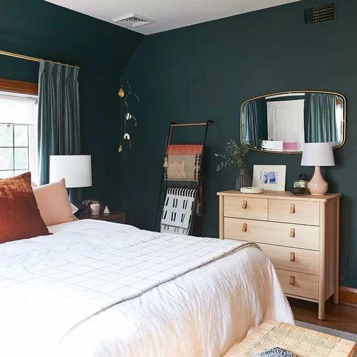 green bedroom ideas 11