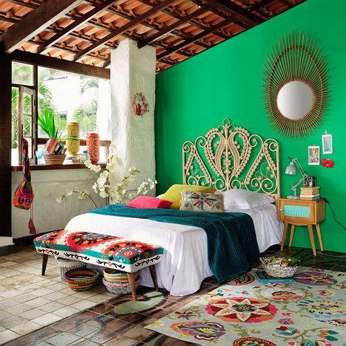 green bedroom ideas 12