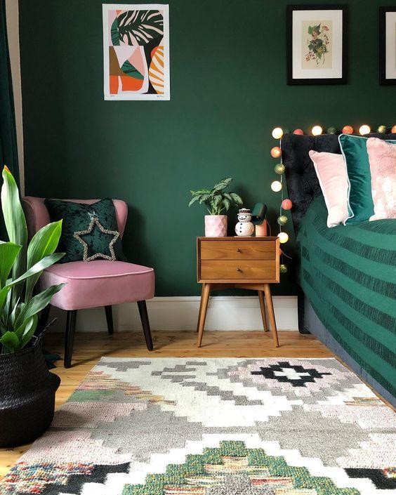 green bedroom ideas 13