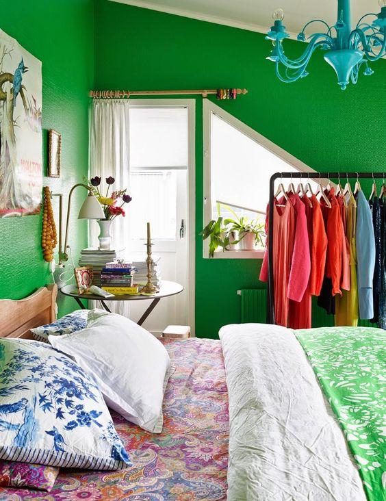 green bedroom ideas 15