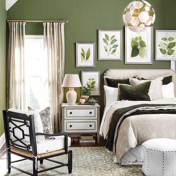green bedroom ideas 20