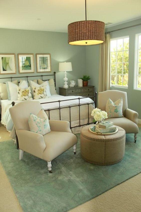 green bedroom ideas 21