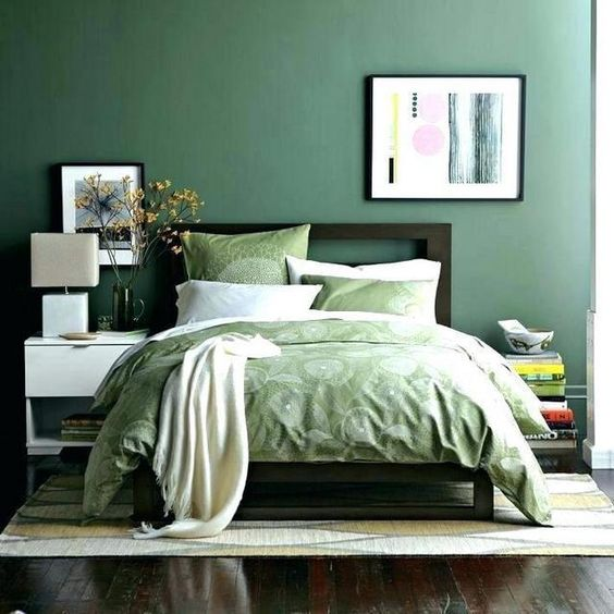 green bedroom ideas 22