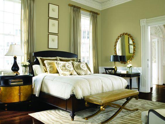 green bedroom ideas 25