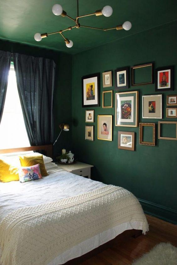 Green Bedroom Ideas: Boldly Decorative Decor