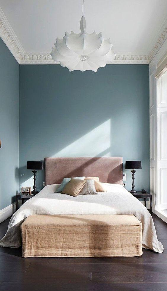 Green Bedroom Ideas: Decorative Classic Decor