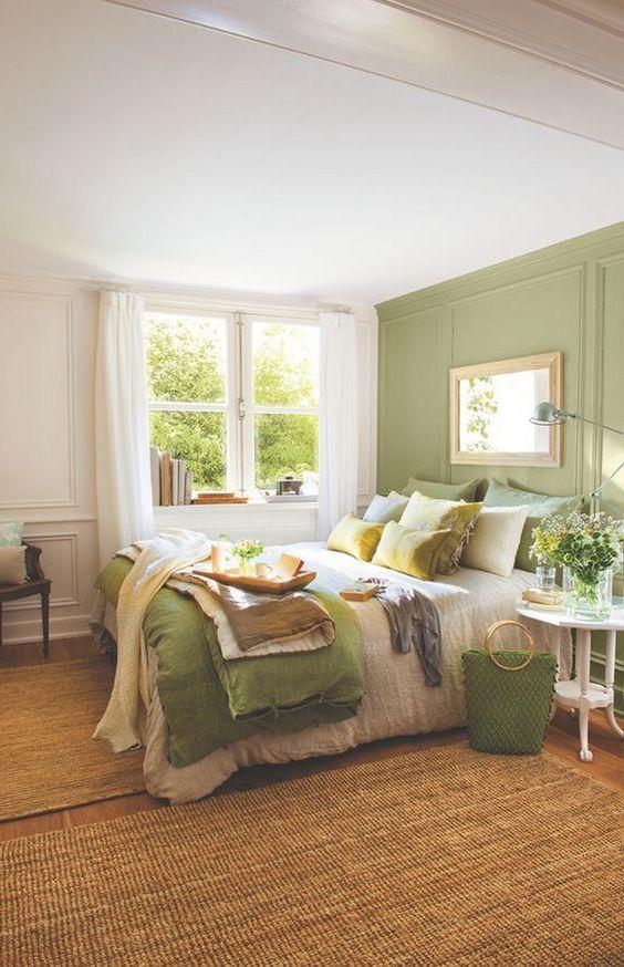 green bedroom ideas 6