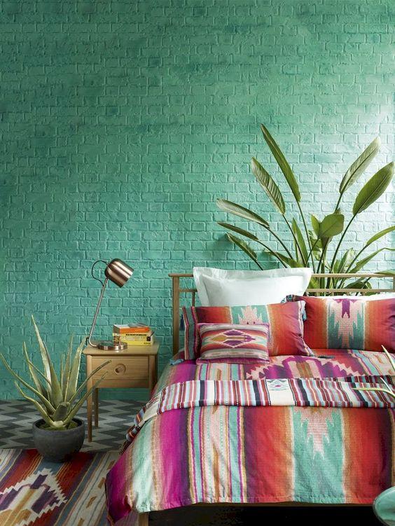 Green Bedroom Ideas: Chic Rustic Decor