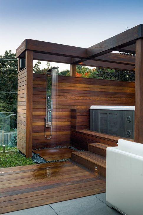 hot tub privacy 11