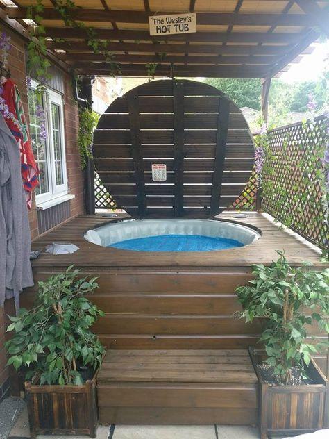 hot tub privacy 12