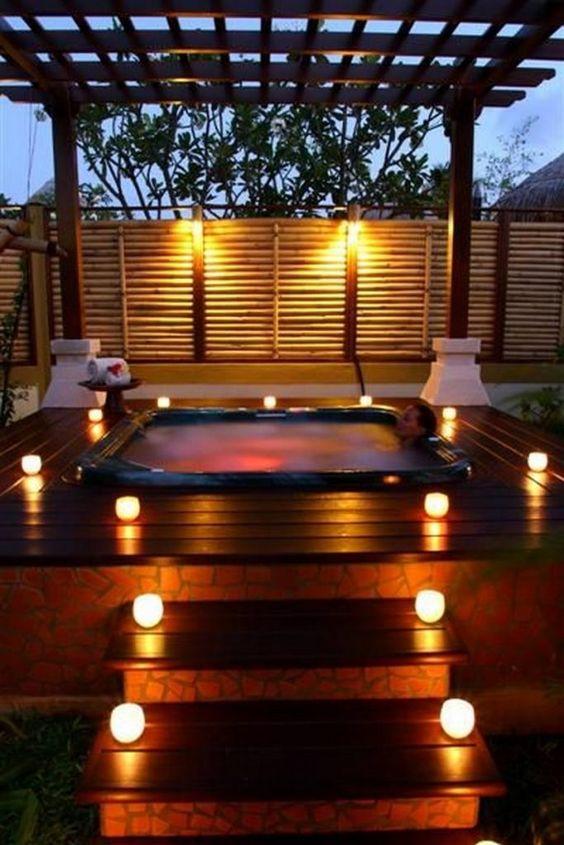 hot tub privacy 16