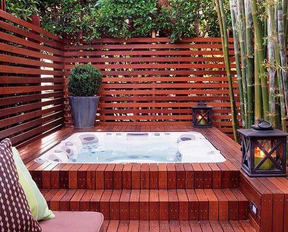 hot tub privacy 17