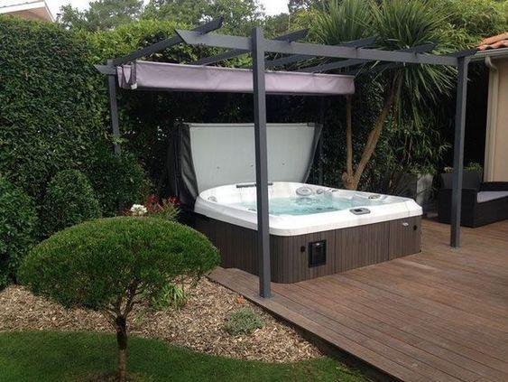 hot tub privacy 19