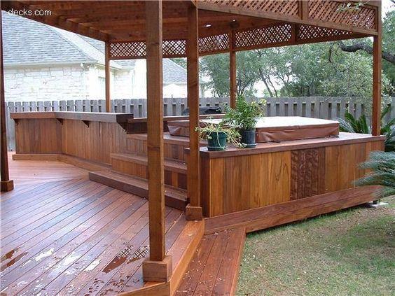 hot tub privacy 22