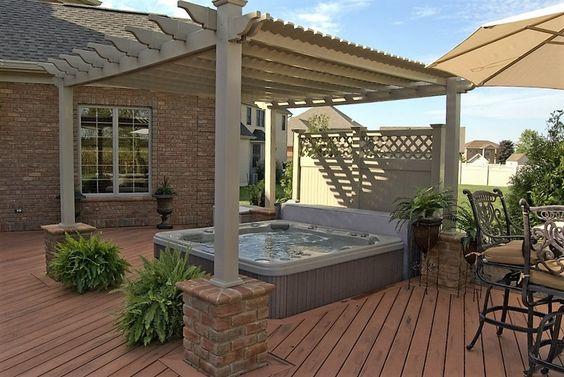 hot tub privacy 23