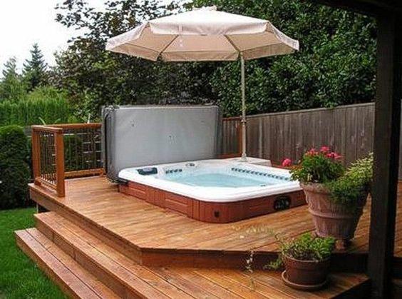 hot tub privacy 24