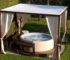 hot tub privacy feature