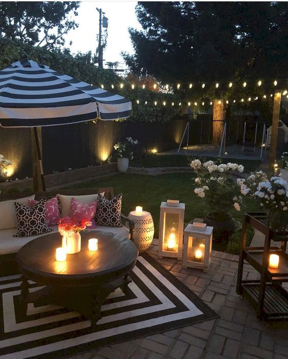 Patio Decor Ideas: Catchy Sparkling Decor