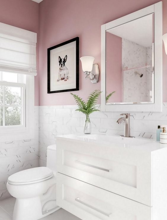 Pink Bathroom Ideas 25 Lovely Decor Inspirations With Chic Nuance