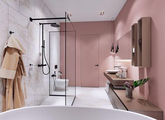 Pink Bathroom Ideas 25 Lovely Decor