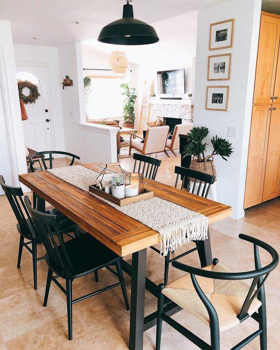 Rustic Dining Room: Elegant Earthy Decor