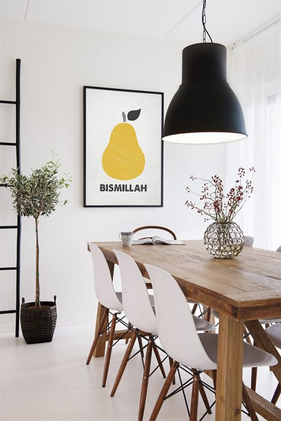 Small Dining Room: Cozy All-White Decor