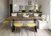 small dining room feature