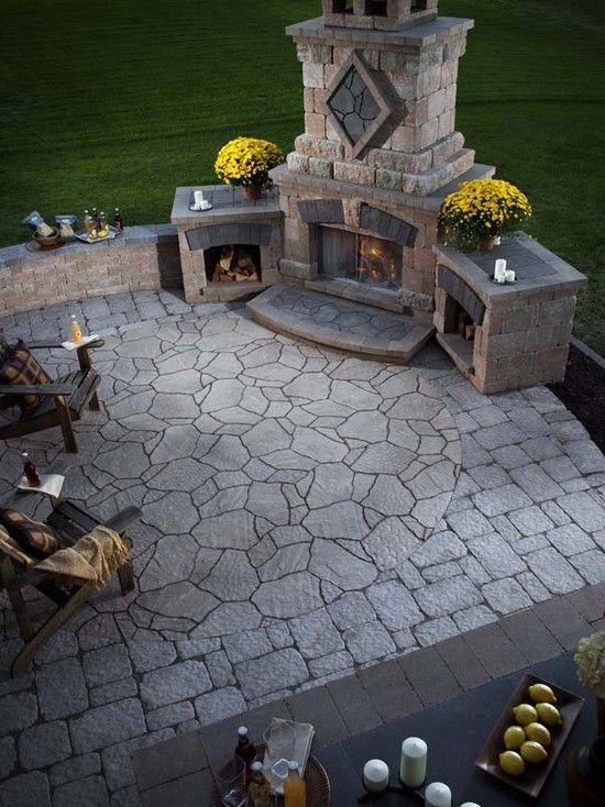 stone patio ideas 13