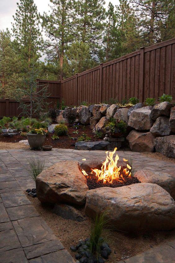 stone patio ideas 16