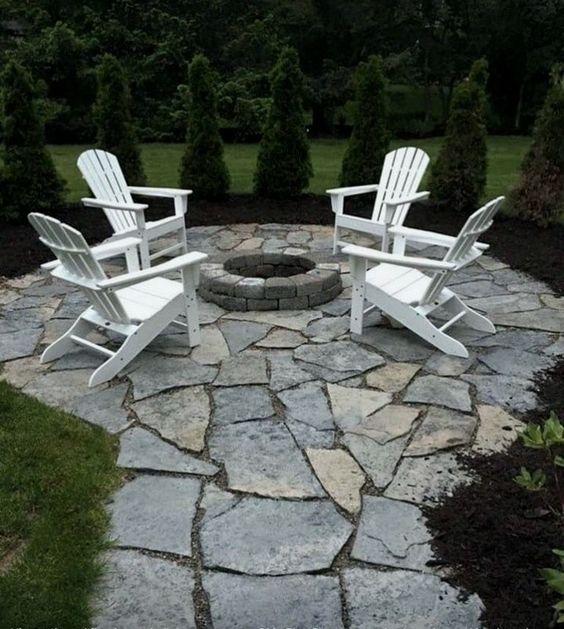 stone patio ideas 17