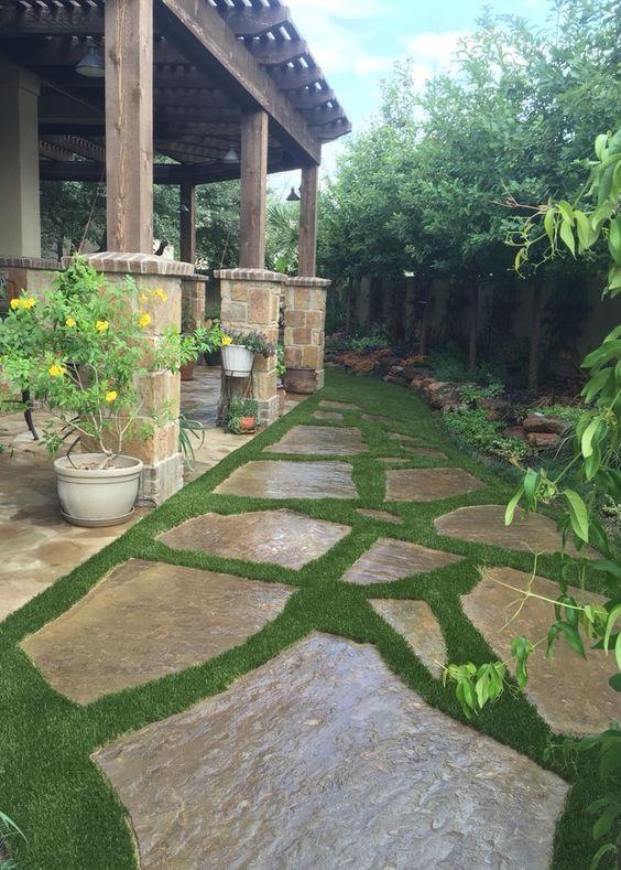 stone patio ideas 19