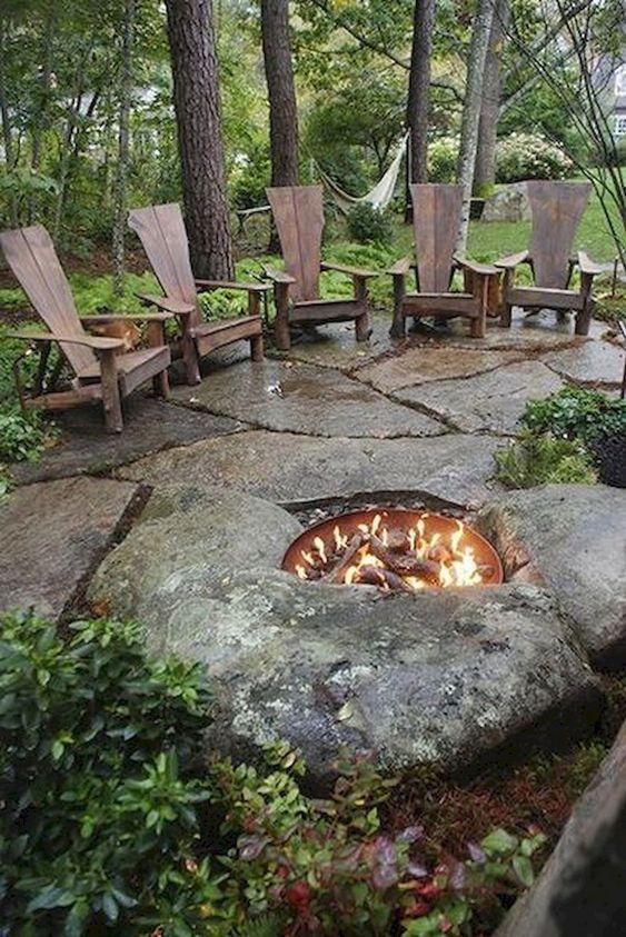 stone patio ideas 21