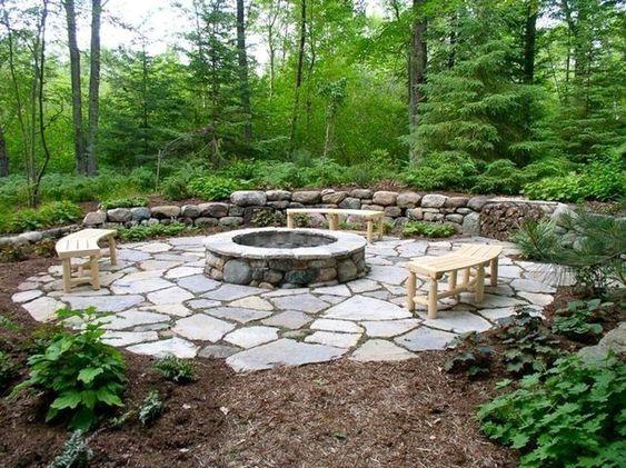 stone patio ideas 22