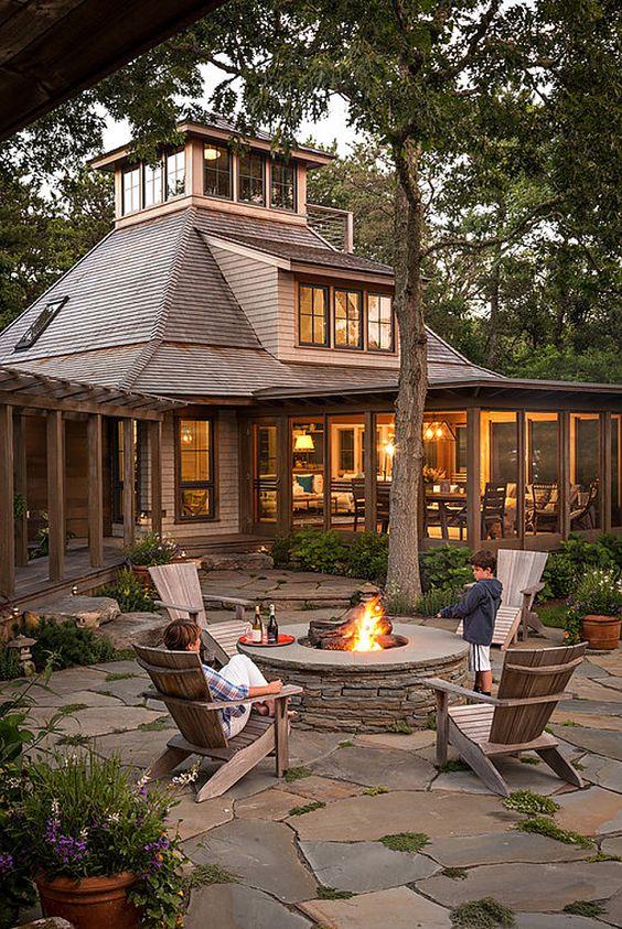 stone patio ideas 5