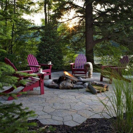 Stone Patio Ideas: Simply Stylish Patio