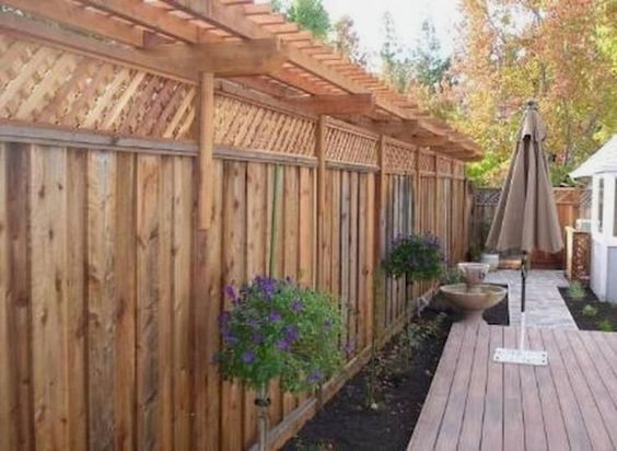 vertical fence ideas 13