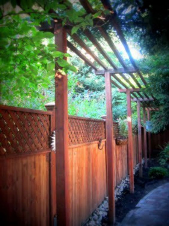 vertical fence ideas 15