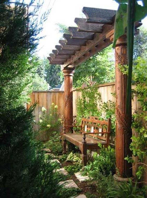 vertical fence ideas 17
