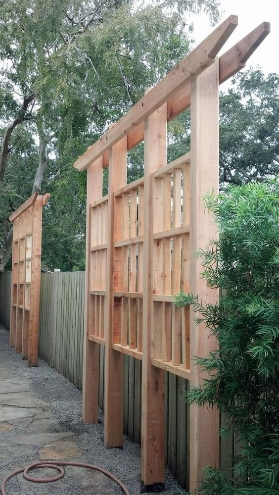 vertical fence ideas 18