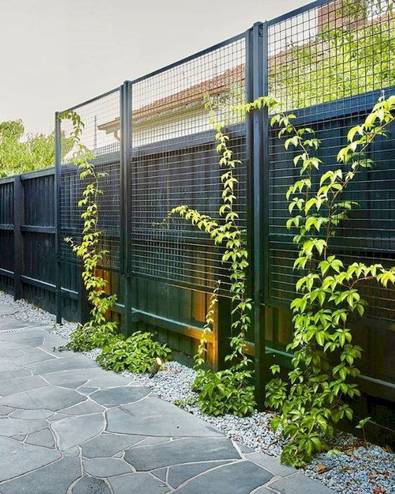 vertical fence ideas 23