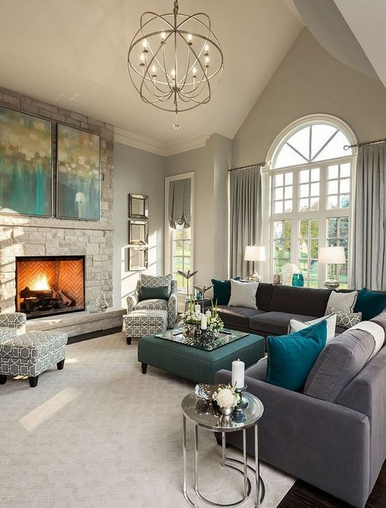 Warm Living Room Ideas: Captivating Transitional Design