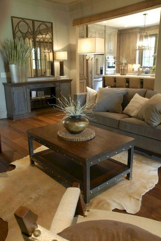 Warm Living Room Ideas: Soft Farmhouse Design