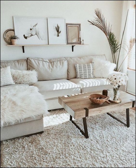warm living room ideas 25