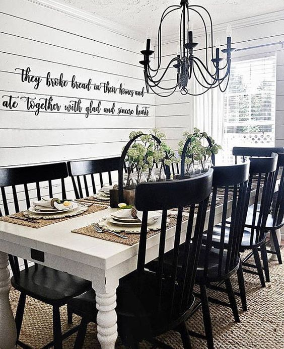 white dining room 11