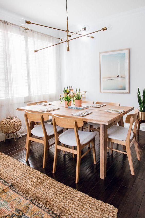 white dining room 16
