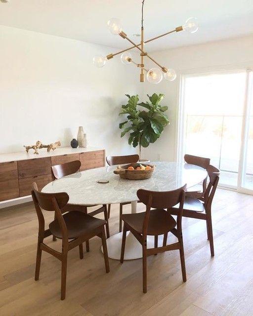 white dining room 17