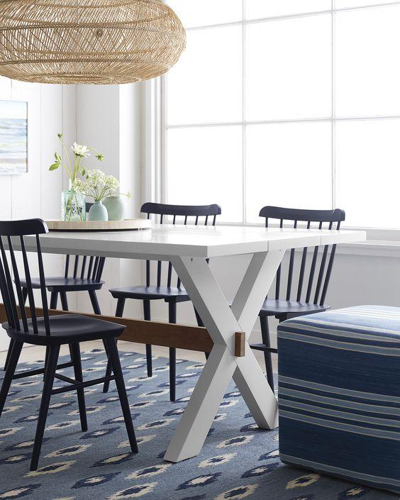 white dining room 20