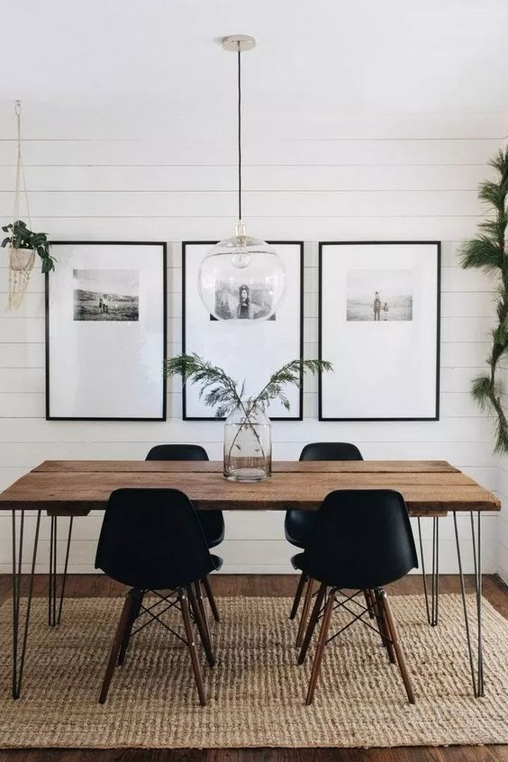 White Dining Room: Elegant Decorative Decor