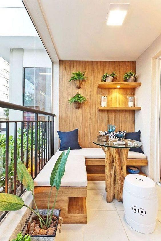 Apartment Patio Ideas: Modern Earthy Decor